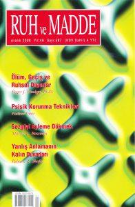 cover Roger Woolger Ruh ve Madde Aralik 2008